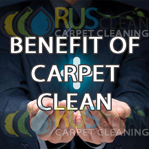 benefit of carpet cleaning